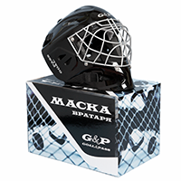 Хоккейный вратарский шлем GOAL&PASS BLK Cat Eye